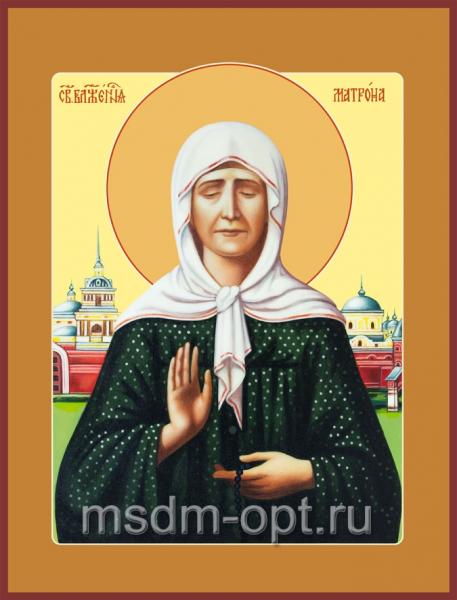 Матрона Московская блаженная, икона (арт.085)