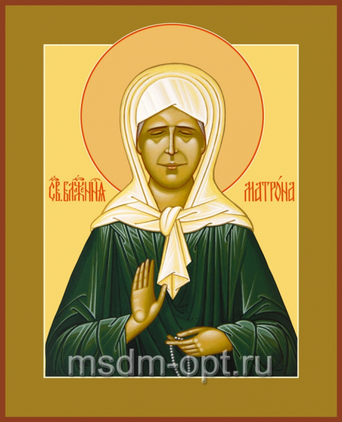Матрона Московская блаженная, икона (арт.086)