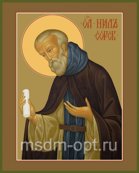 Нил Сорский преподобный, икона (арт.094)