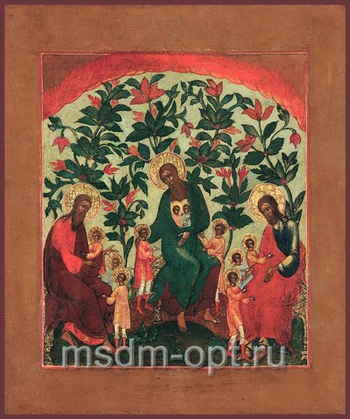 Благословение детей, икона