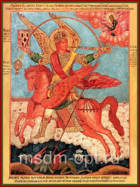 Михаил архангел грозных сил воевода