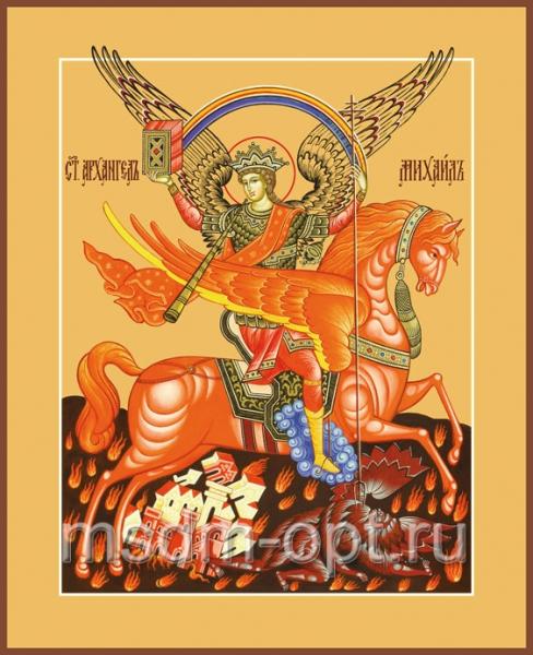 Михаил архангел грозных сил воевода, икона (арт.169)