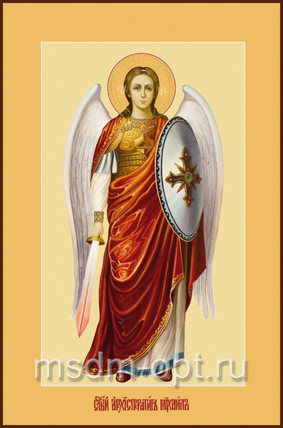 Михаил архангел, икона (арт.170)