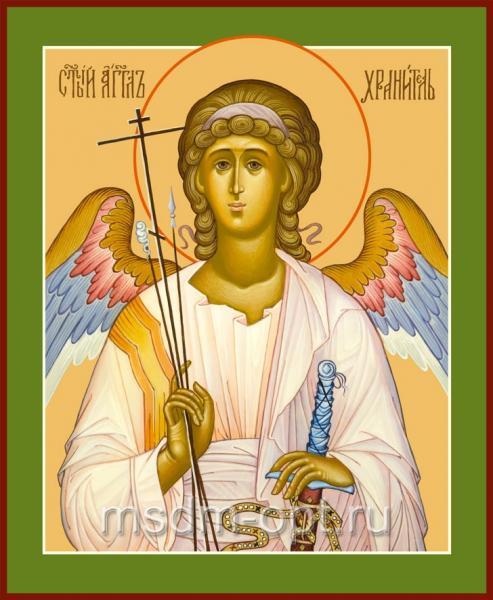 Ангел Хранитель, икона (арт.186)