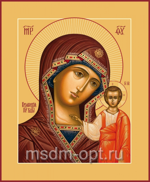 Казанская икона Божией Матери (арт.203)