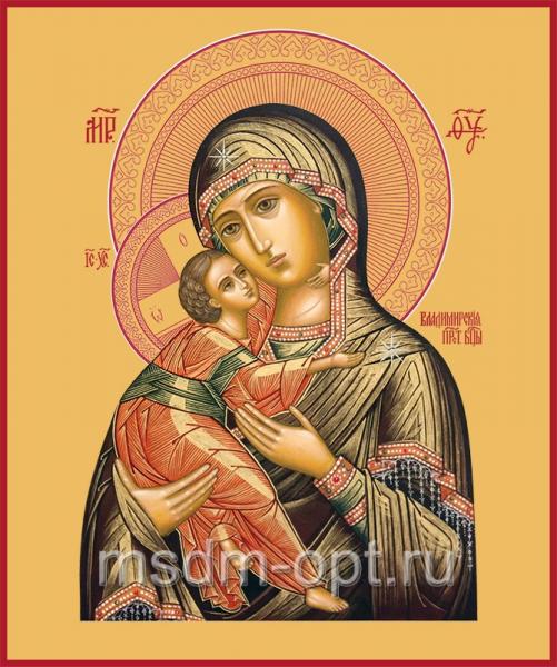 Владимирская икона Божией Матери (арт.204)
