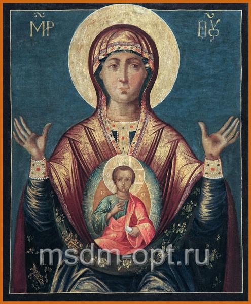 Знамение икона Божией Матери (арт.02083)
