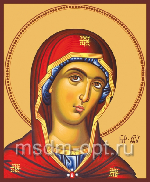 Деисусная икона Божией Матери (арт.214)