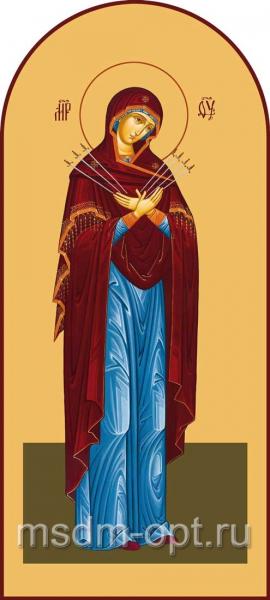 Семистрельная, икона Божией матери