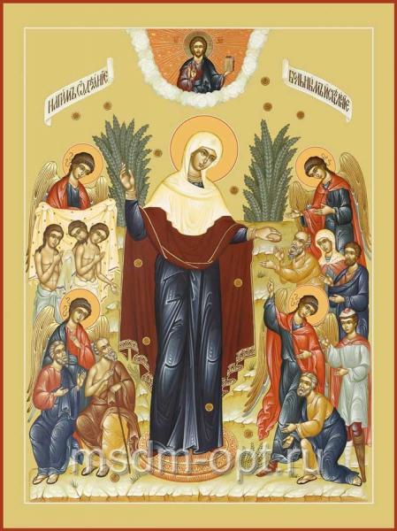 Всех скорбящих Радость икона Божией Матери (арт.233)
