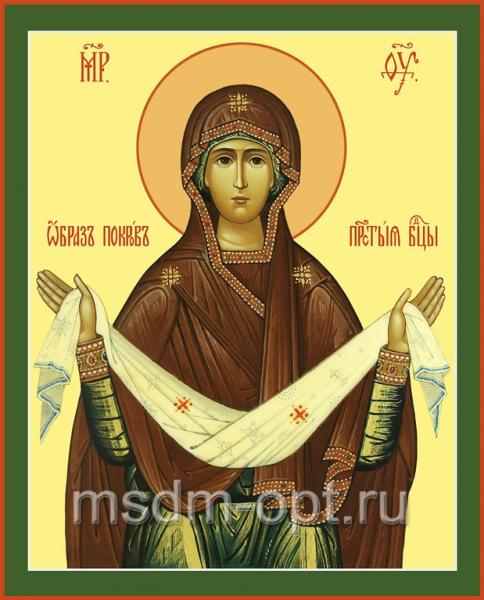 Покров икона Божией Матери
