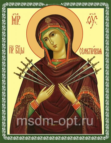Семистрельная икона Божией Матери (арт.254)