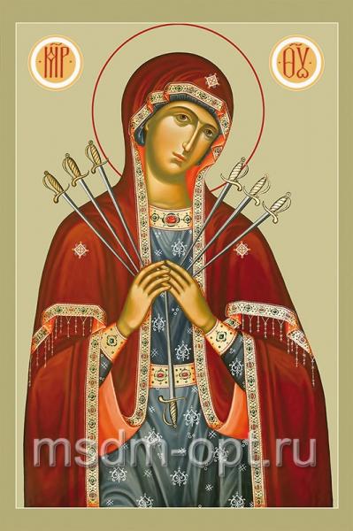 Умягчение злых сердец икона Божией Матери (арт.256)