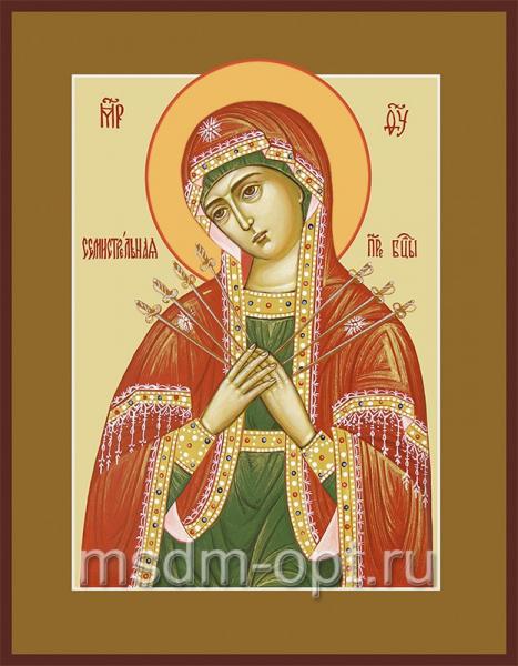 Семистрельная икона Божией Матери (арт.260)