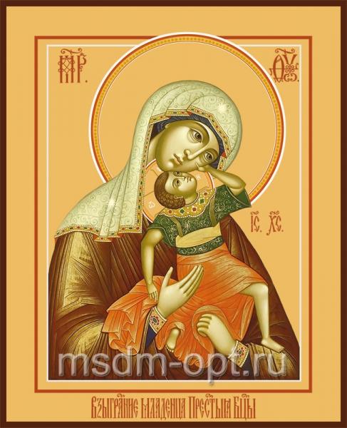 Взыграние Младенца икона Божией Матери (арт.261)