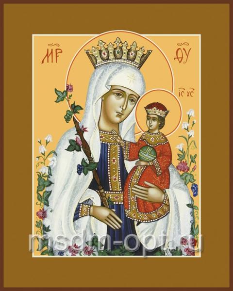 Неувядаемый Цвет икона Божией Матери (арт.284)
