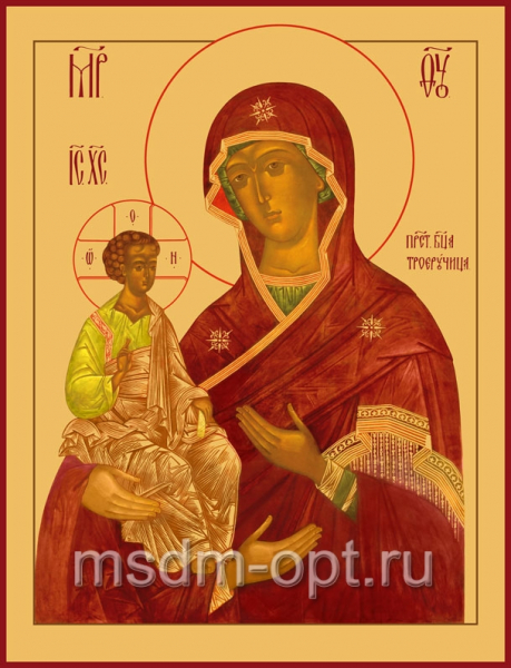 Троеручица икона Божией Матери (арт.293)
