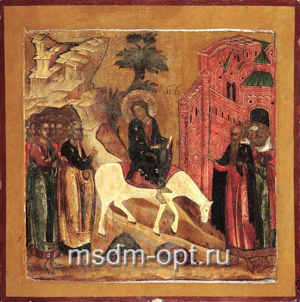 Вход Господень в Иерусалим, икона (арт.03026)