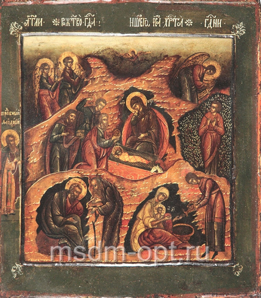 Рождество Христово, икона (арт.03038)