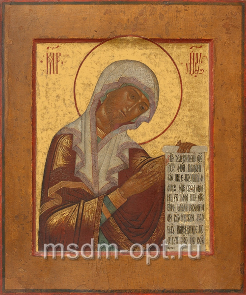 Деисусная икона Божией Матери (арт.310)
