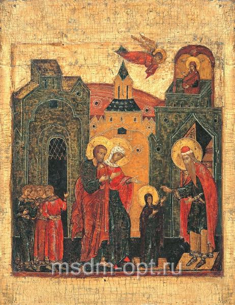 Введение во храм Пресвятой Богородицы, икона (арт.03207)