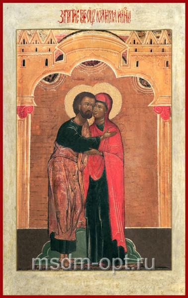 """Зачатие святой Анны, """"егда зачат святую Богородицу"""""""