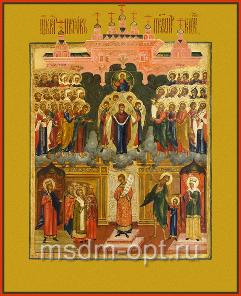 Покров Пресвятой Богородицы, икона