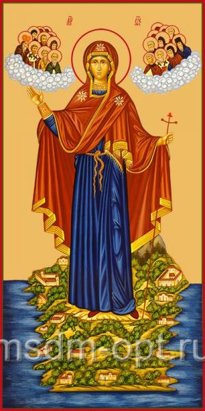 Игумения Горы Афонской икона Божией Матери