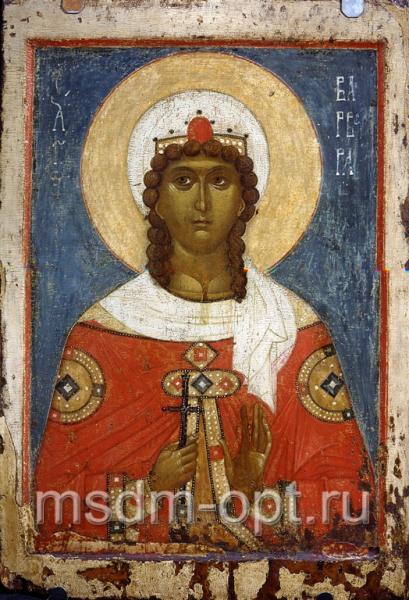 Варвара великомученица, икона (код.3411)