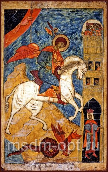 Георгий Победоносец великомученик, икона Чудо Георгия о змие