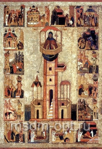 Симеон Столпник преподобный, икона
