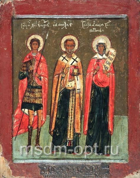 Георгий великомученик, Николай святитель, Параскева мученица