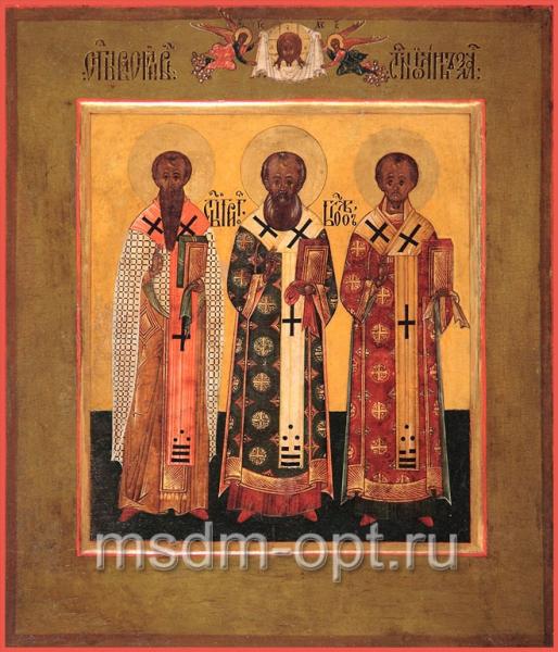 Василий, Григорий, Иоанн святители