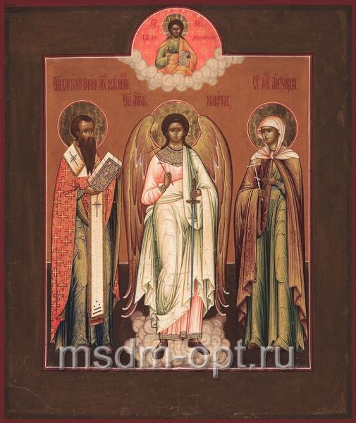 Василий Великий святитель, Ангел Хранитель, Александра мученица