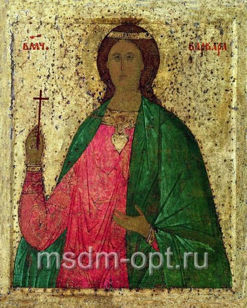 Варвара великомученица, икона (код.3492)