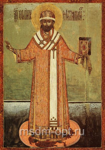 Филипп, митрополит Московский, святитель, чудотворец, икона (арт.03533)