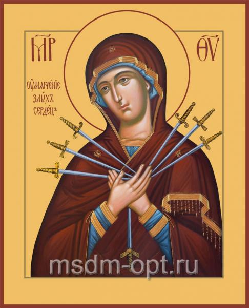 Умягчение злых сердец икона Божией Матери (арт.367)