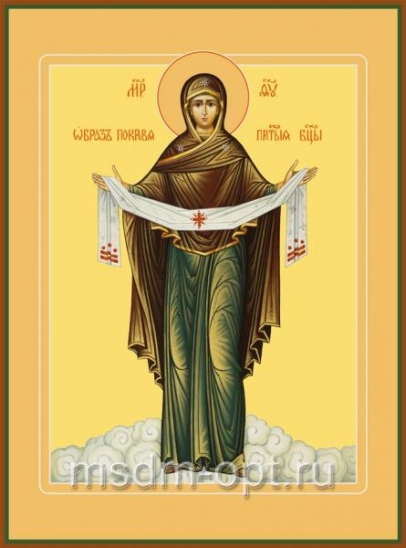 Покров икона Божией Матери (арт.375)
