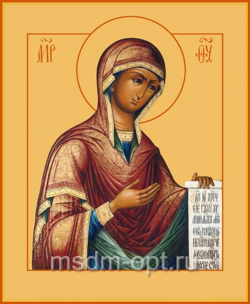 Деисусная икона Божией Матери (арт.376)