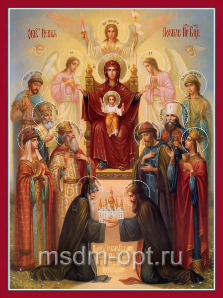 Похвала Пресвятой Богородицы икона Божией Матери (арт.380)
