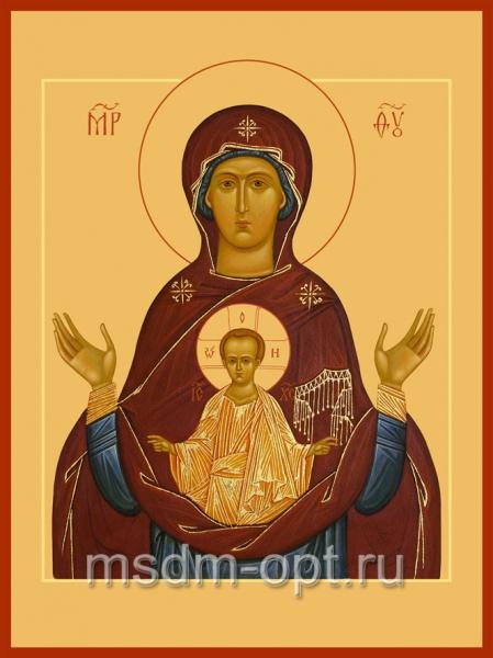 Знамение икона Божией Матери (арт.382)