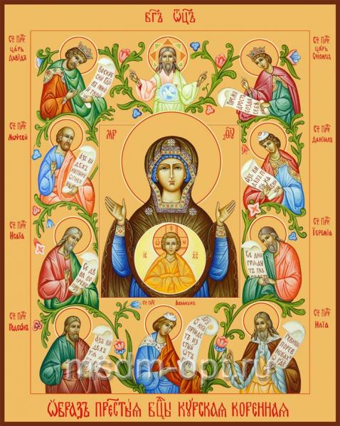 Знамение икона Божией Матери. Курско-Коренная (арт.387)