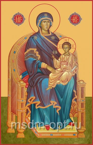 Божия Матерь на Престоле, икона (арт.00389)