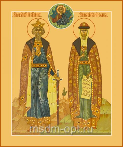Владимир и Ольга равноапостольные великие князья