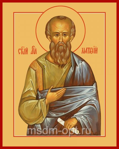 Святой Апостол Матфи́й, икона (арт.04007)
