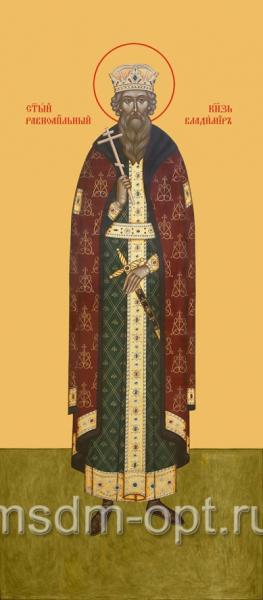 Владимир равноапостольный великий князь, икона (арт.408)