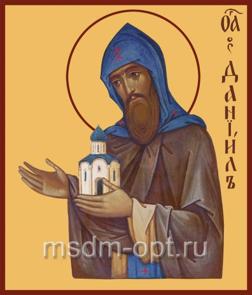 Даниил Московский благоверный князь, икона (арт.411)