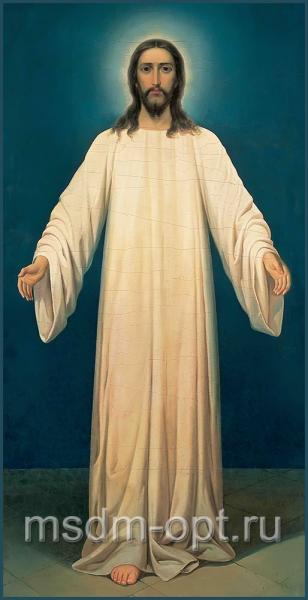 Спаситель в белом хитоне, икона (арт.04130)