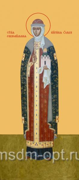 Ольга равноапостольная великая княгиня, икона (арт.414)