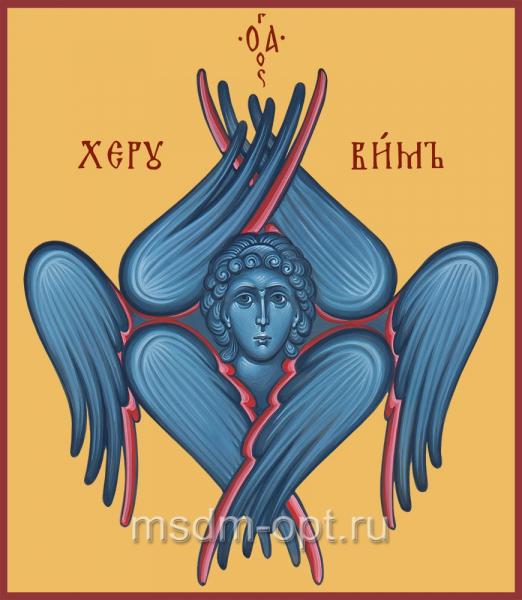Херувим Шестикрылый, икона (арт.04150)